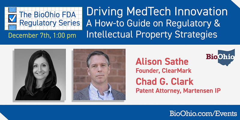 Driving MedTech Innovation: A How-To Guide on Regulatory & Intellectual Property Strategies